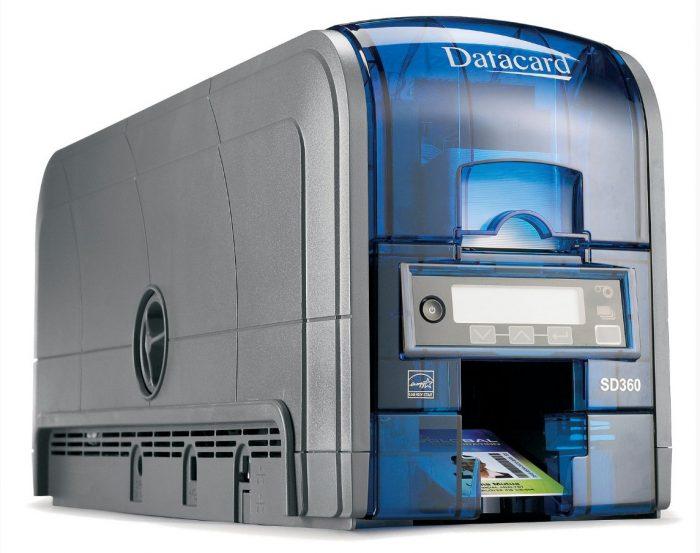 datacard plastic card printer