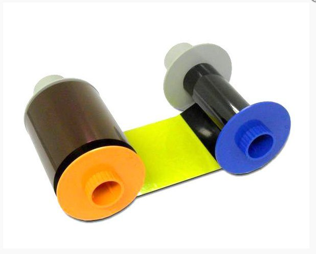 Fargo colour ribbon YMCKK Fargo Colour Printer Ribbon for HDP5000 series printer