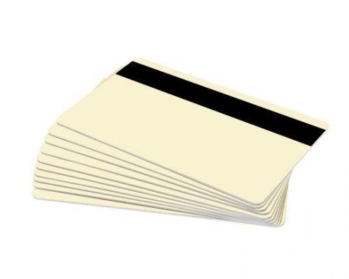 Cream Magstripe Cards