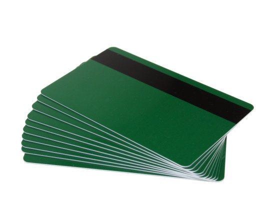 Green Magstripe Cards