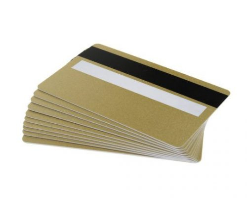 Gold Magstripe & Sig Panel Cards