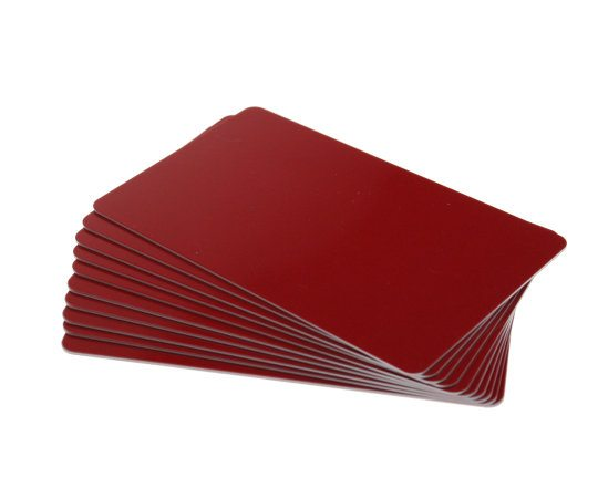 Blank Red Cards
