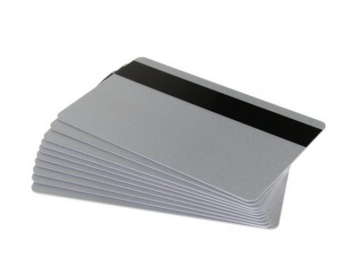 Silver Magstripe Cards