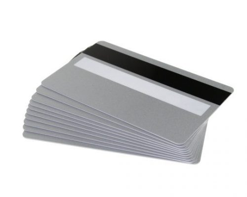 Silver Magstripe & Sig Panel Cards