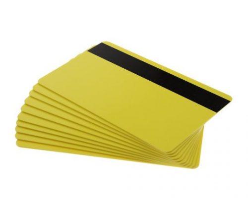 Yellow Magstripe Cards