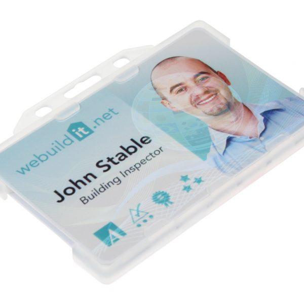 plastic card holders