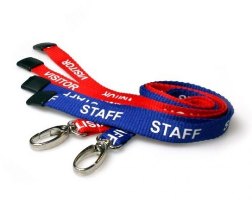 Staff & Visitor Lanyards