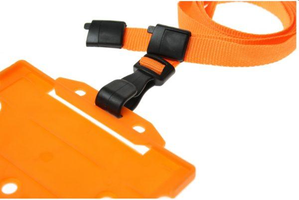 orange lanyards