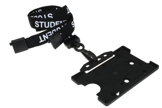 Black Student Lanyards
