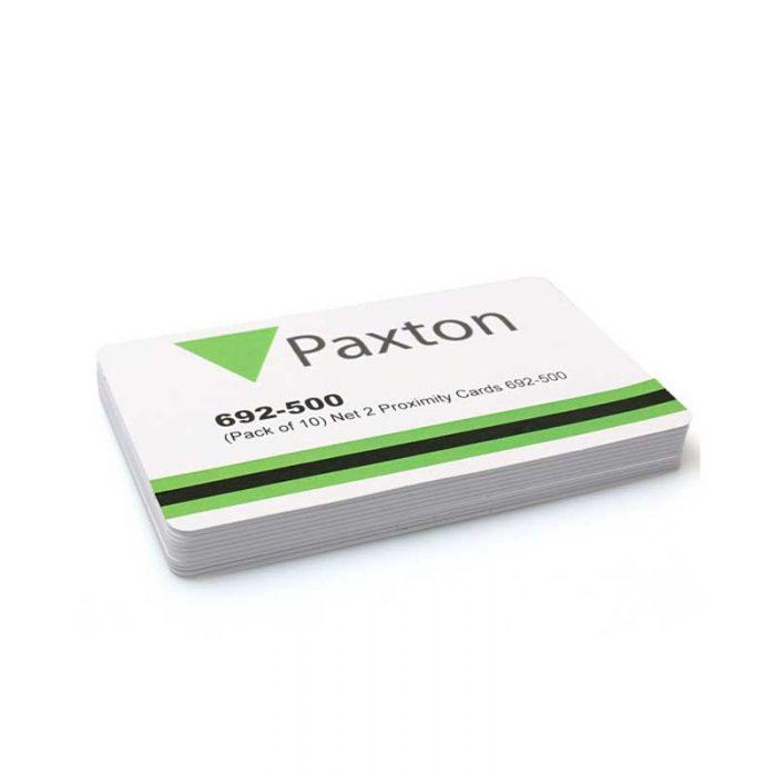 paxton net2 proximity cards