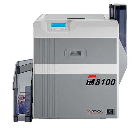 Matica plastic card printer