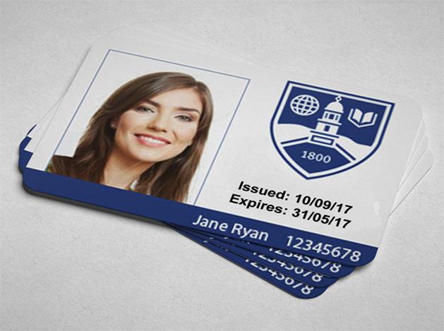 printed plastic id cards