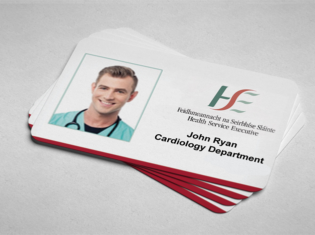 prined id cards