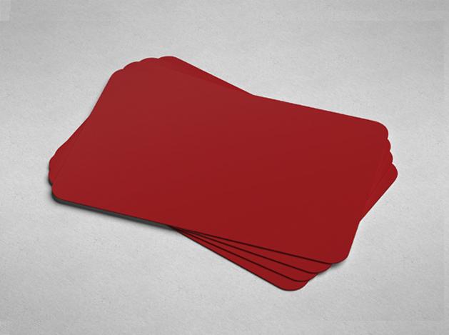 Blank Colour Cards