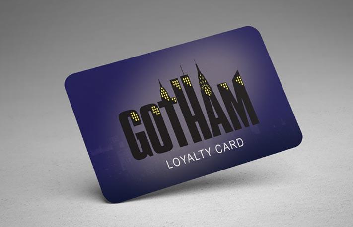 plastic loyalty card printing