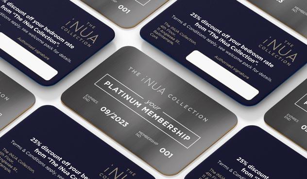 Printed Membership Cards