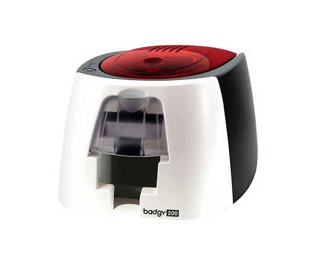 evolis badgy printer