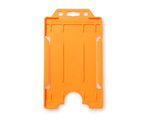 Orange Portrait Card Hodler