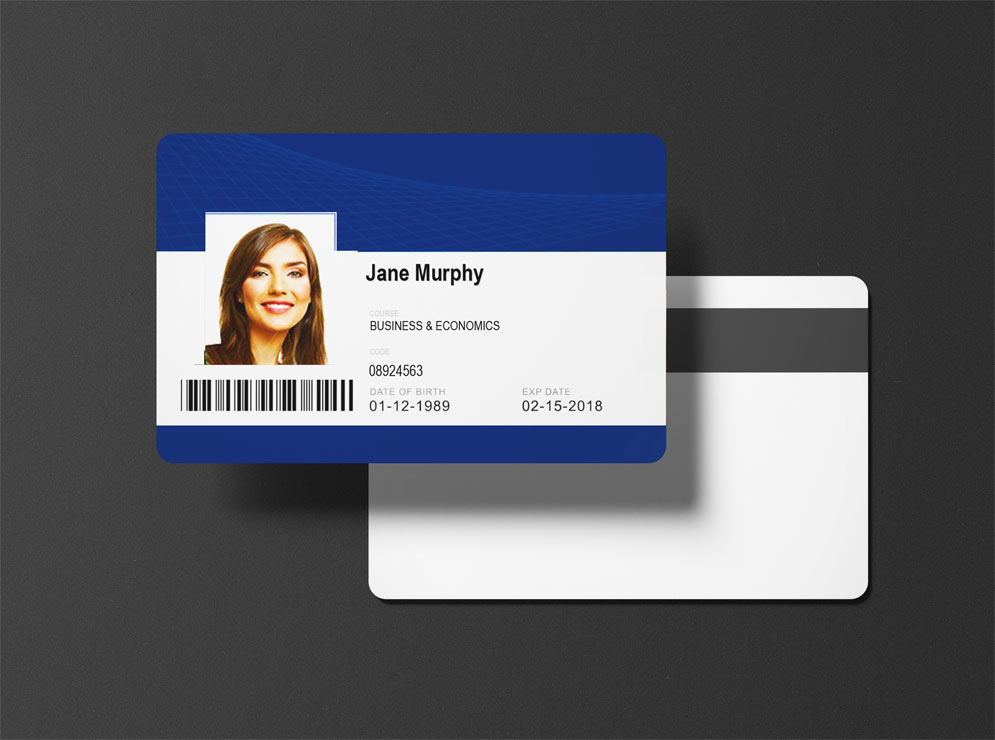 Printed Staff ID Cards