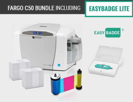 Fargo C50 Printer Bundle