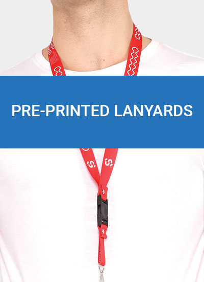 Pre-printed-lanyards